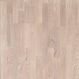 Паркетная доска Polarwood Ash Living White Matt 3-strip